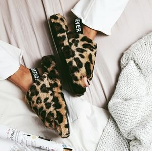 🌈Above the Clouds Collection leopard slides
